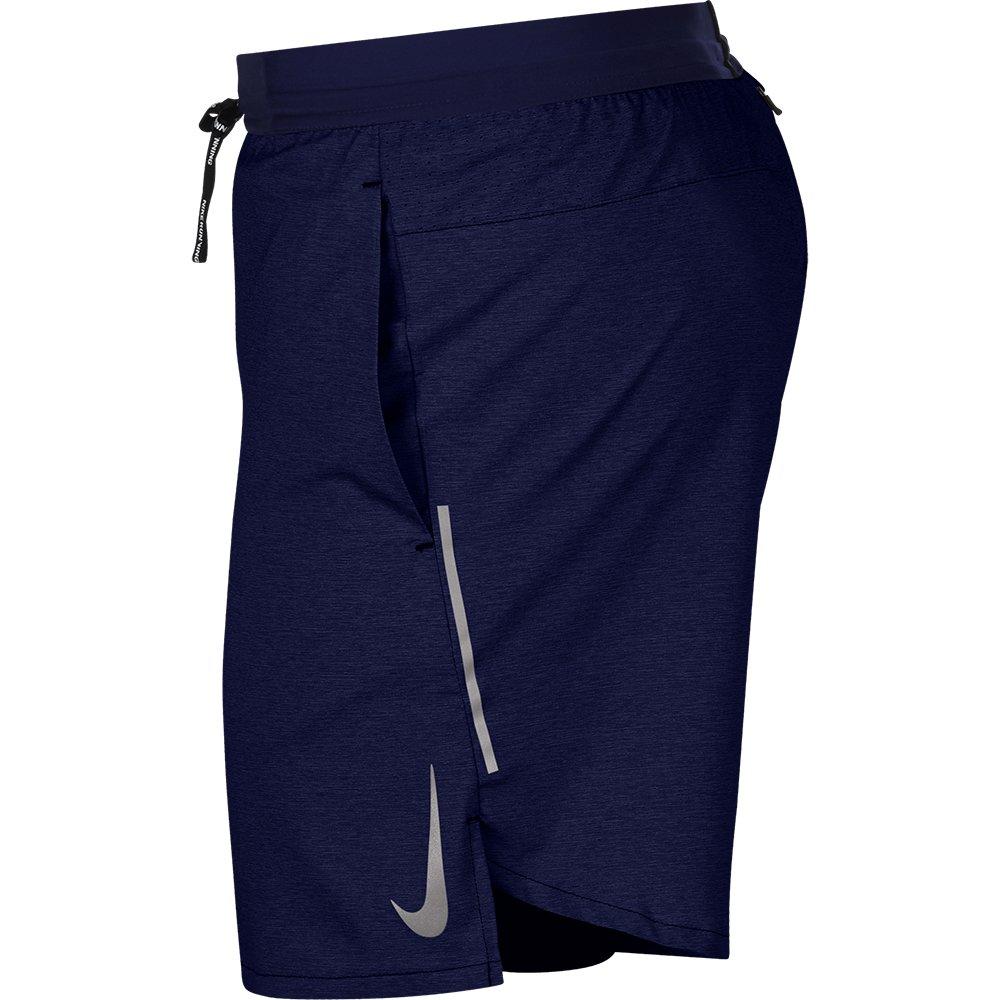 nike dri-fit flex stride 7 inch 2 in 1 shorts m granatowe