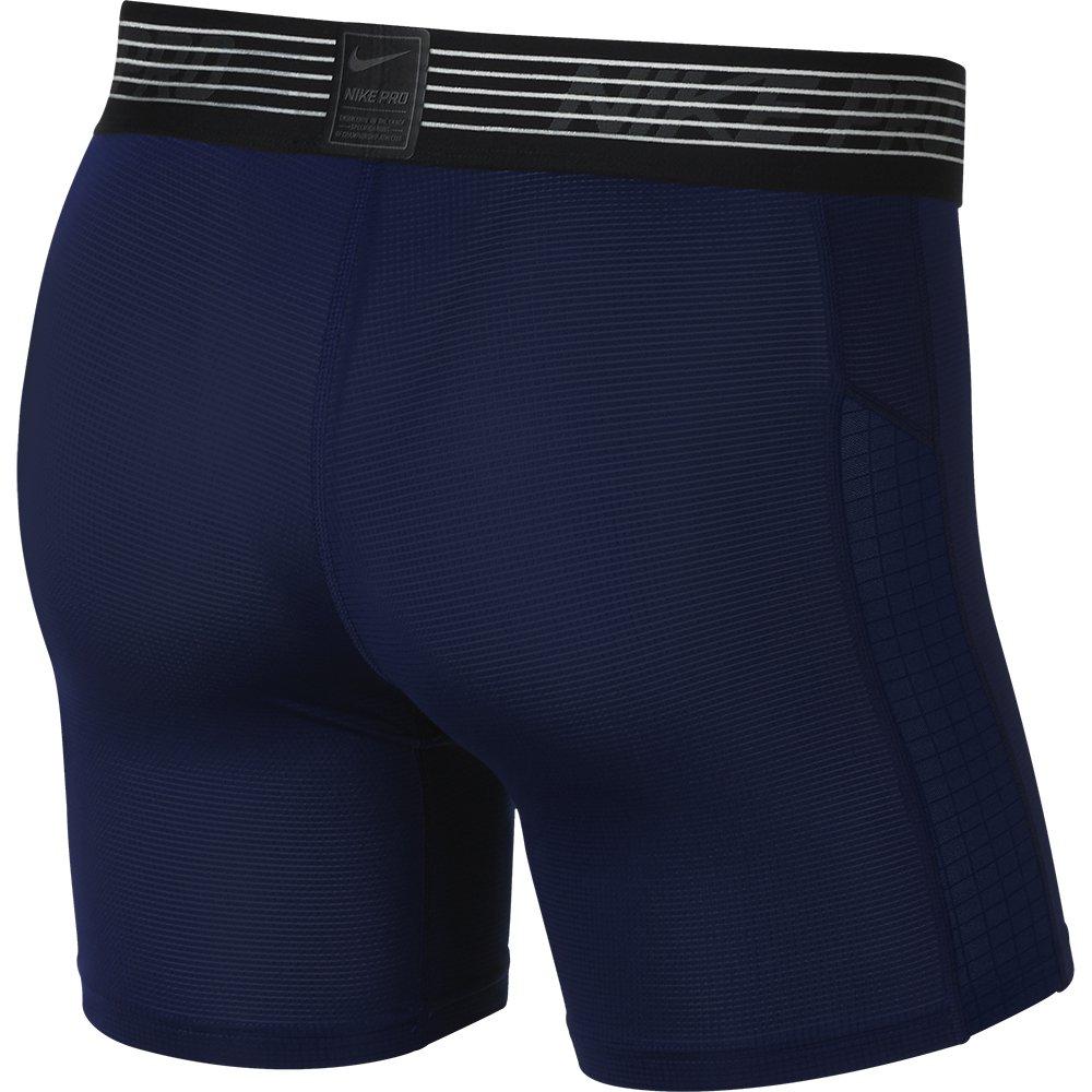 nike pro compression shorts m granatowa