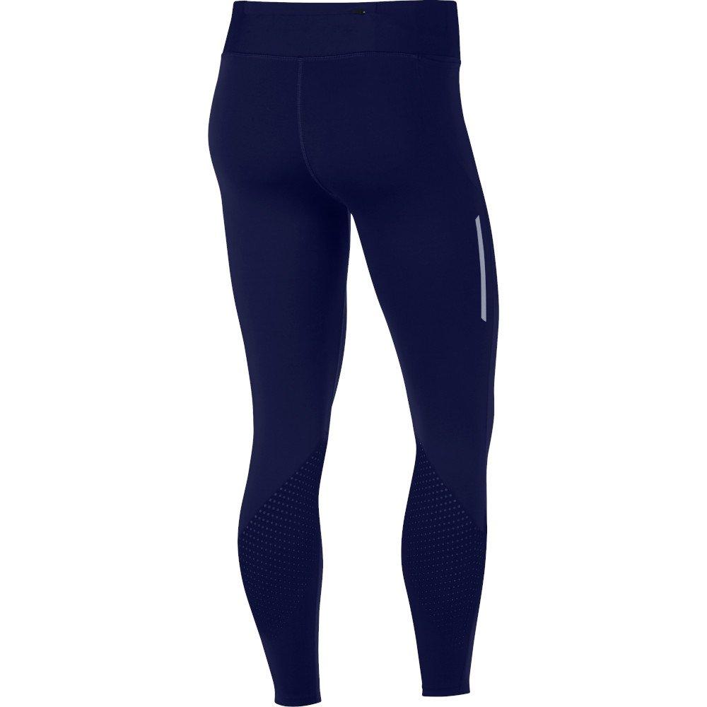 nike epic lux tights w niebieskie
