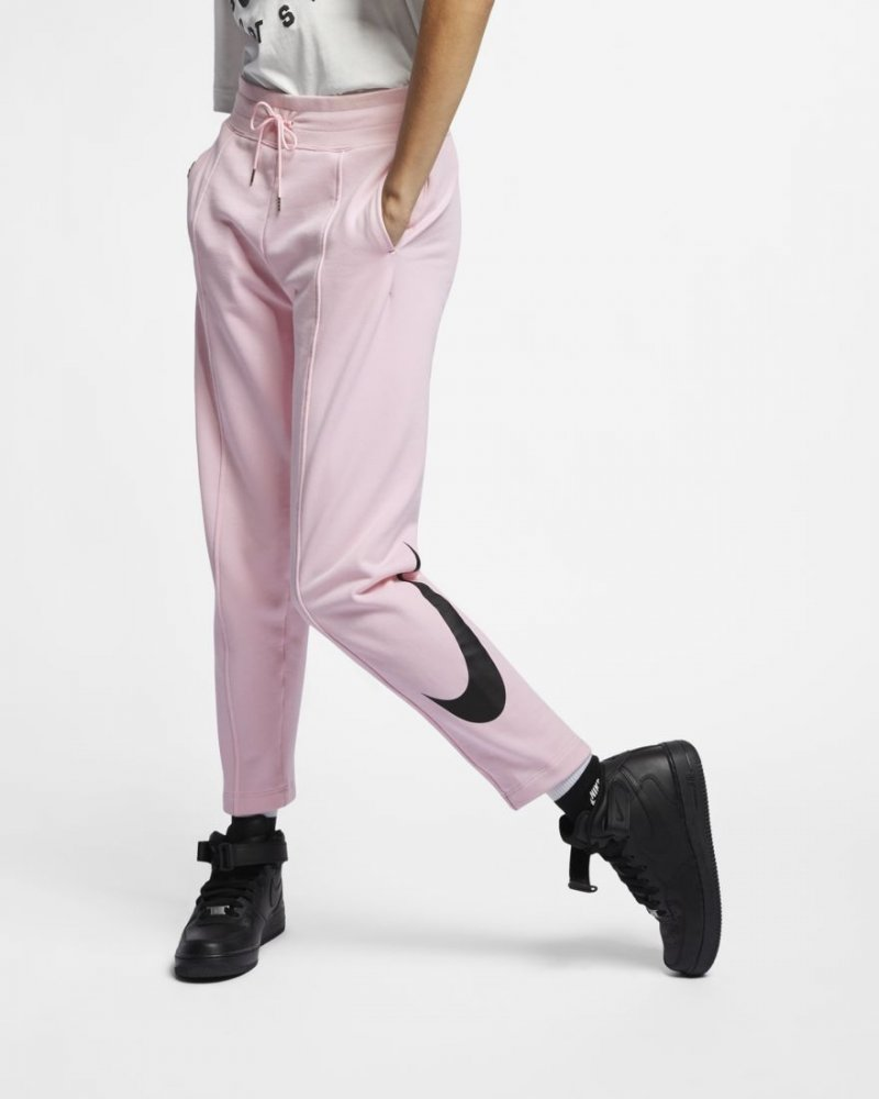 nike wmns nsw swoosh french terry trousers (ar2938-663)