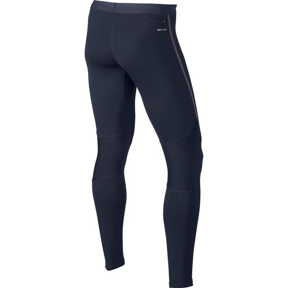 nike tech running tights m obsydianowe