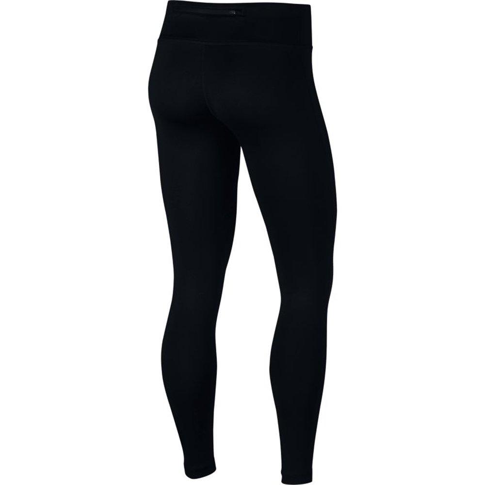 nike power essential running tights w czarne