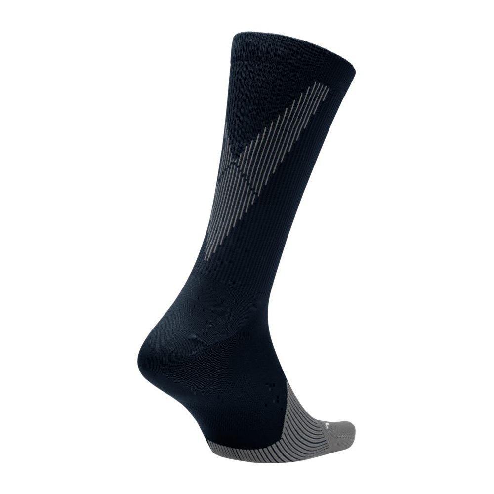 nike elite lightweight crew running socks u czarne