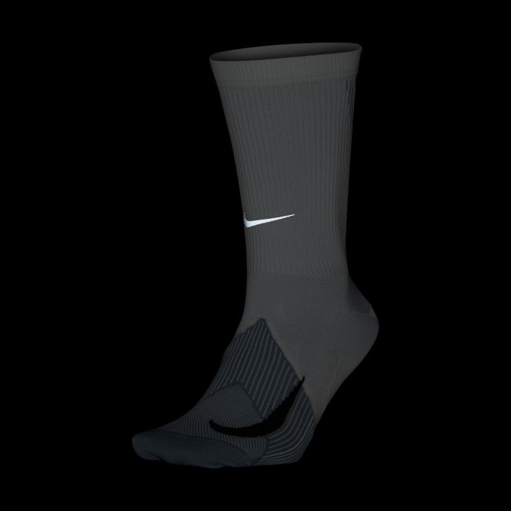 nike elite lightweight crew running socks u białe
