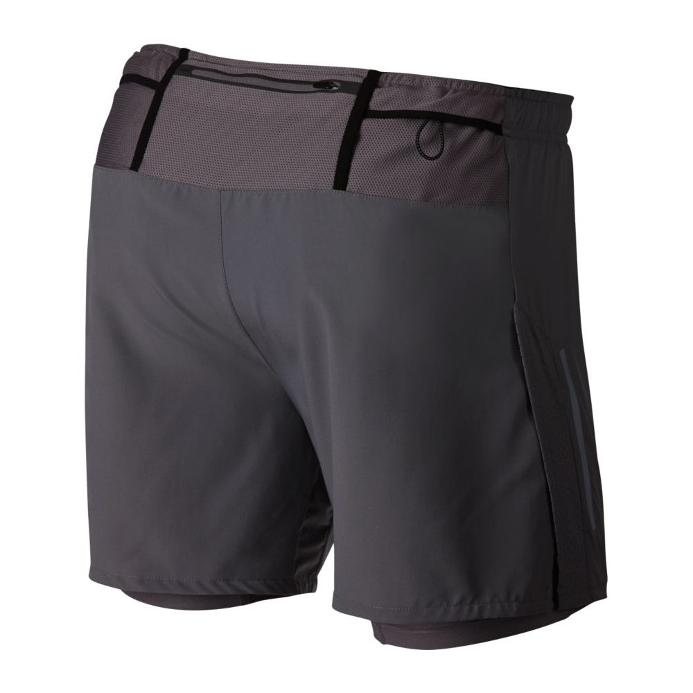nike flex distance 2-in-1 shorts m szare