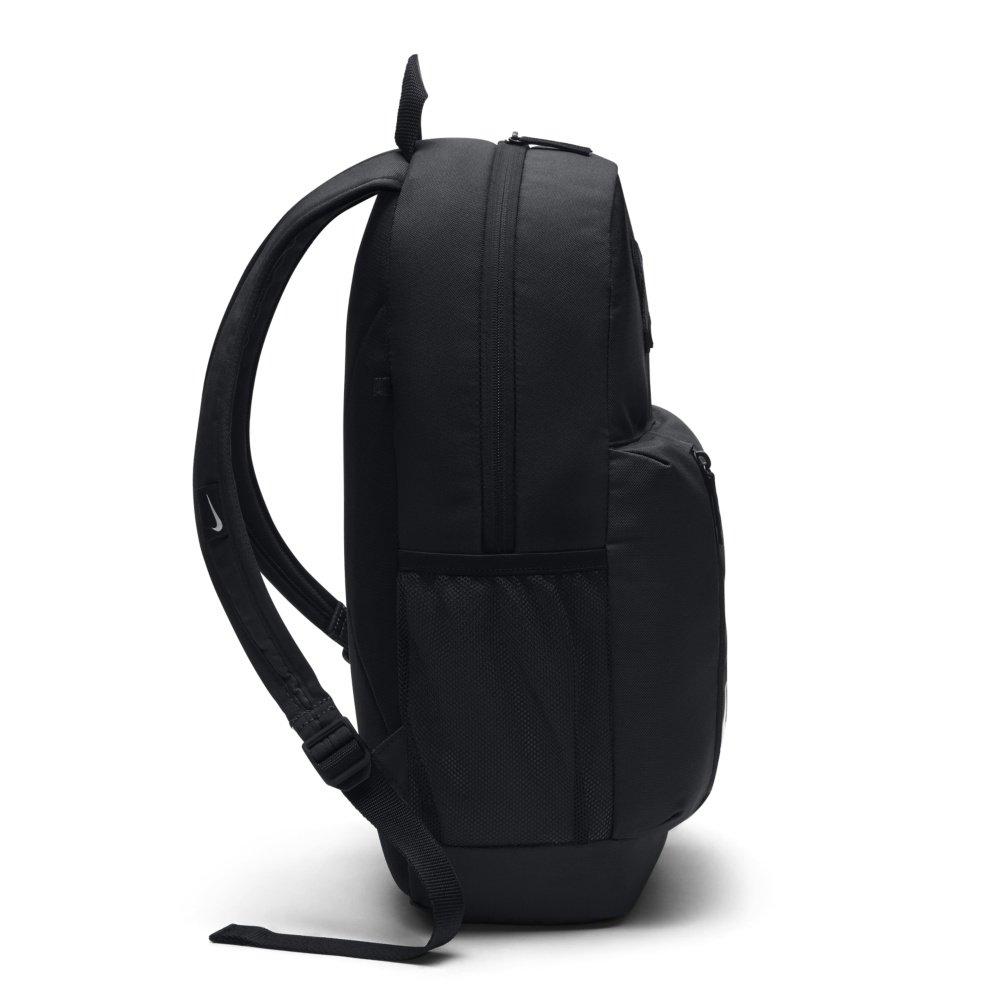 nike youth elemental backpack czarno-biały