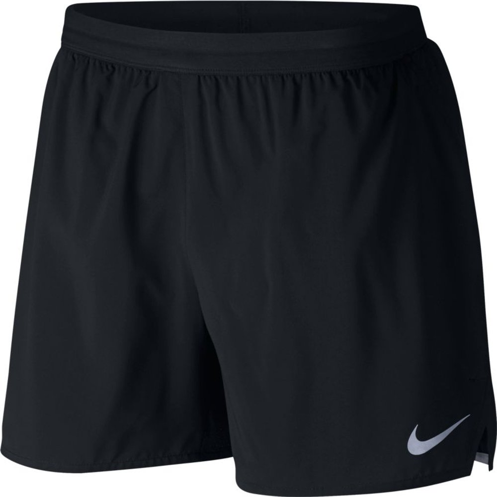 nike distance 5 inch lined shorts m czarne