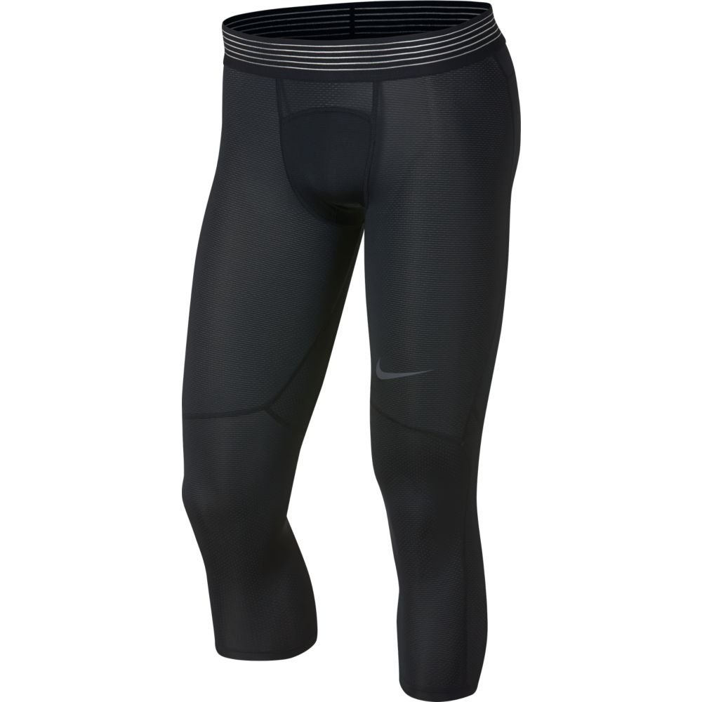nike pro hypercool 3/4 tights m czarne
