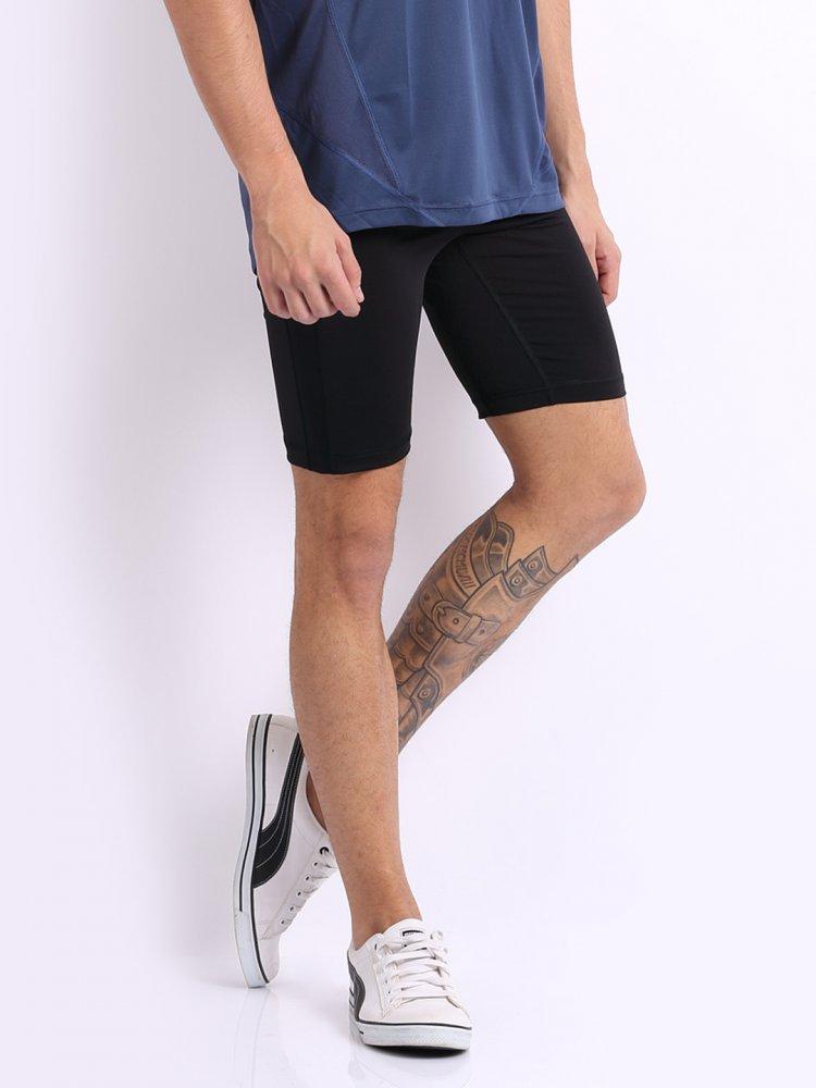 szorty pe_running_short tight black-blac
