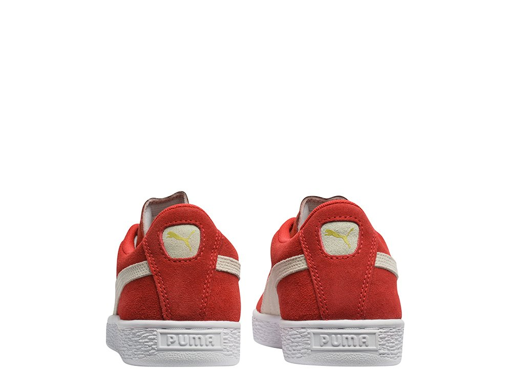 buty suede jr high risk red-white