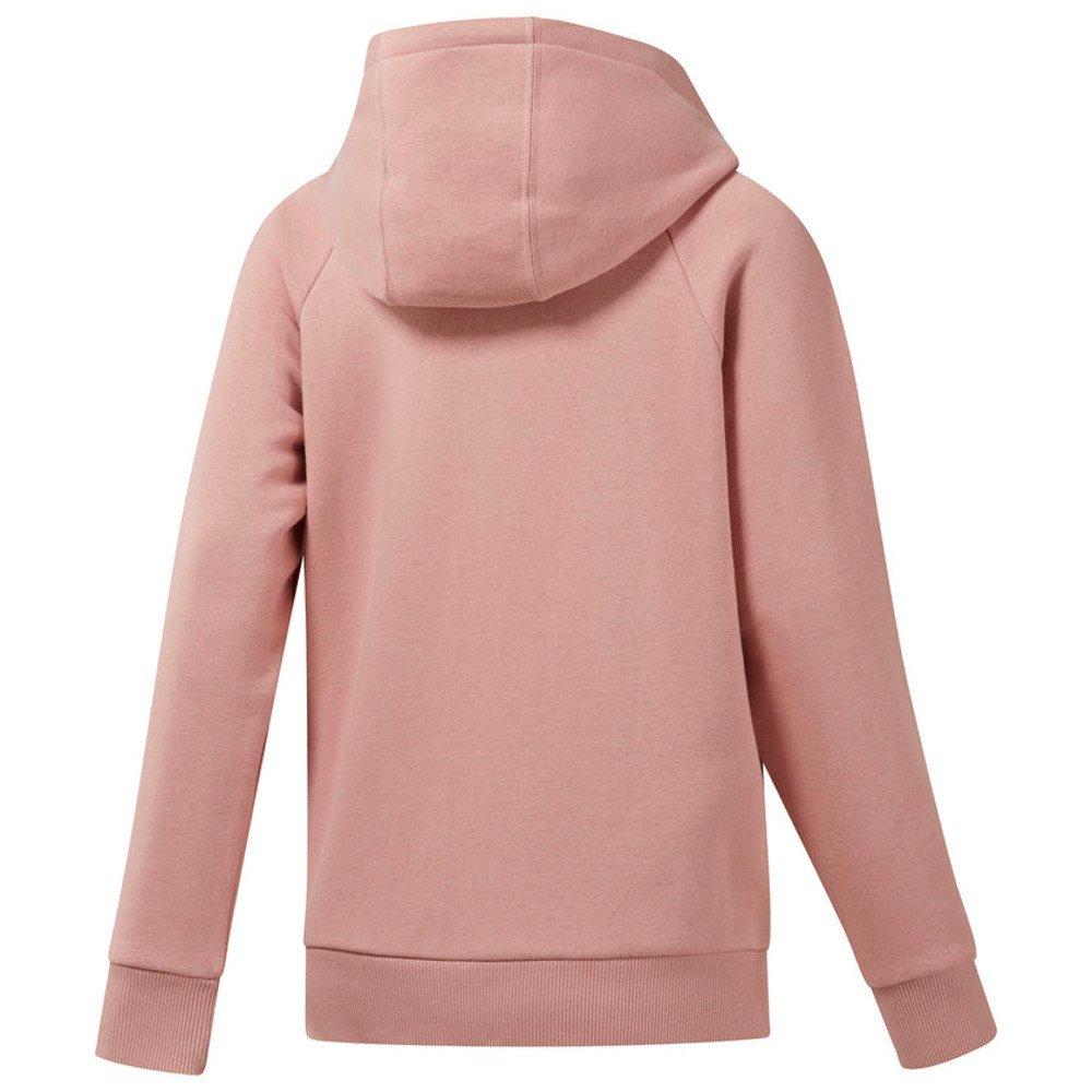 bluza reebok z kapturem fleece zip-up (dh1377)