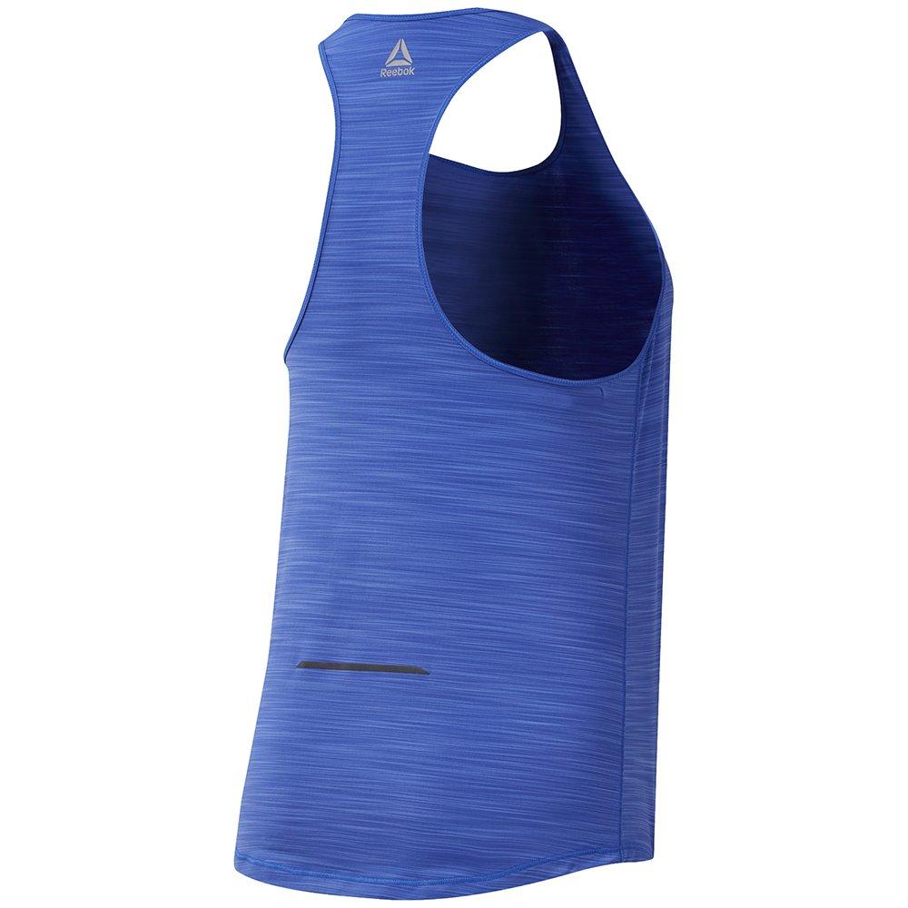 reebok running activchill tank top w niebieska