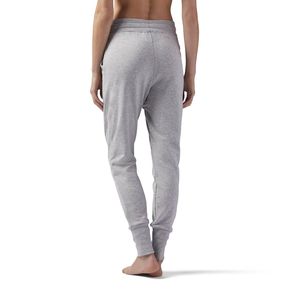 spodnie reebok w high waisted cotton jogger (ce2288)