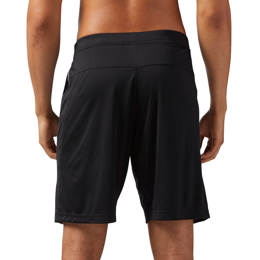 reebok speedwick knitted exo camo shorts black