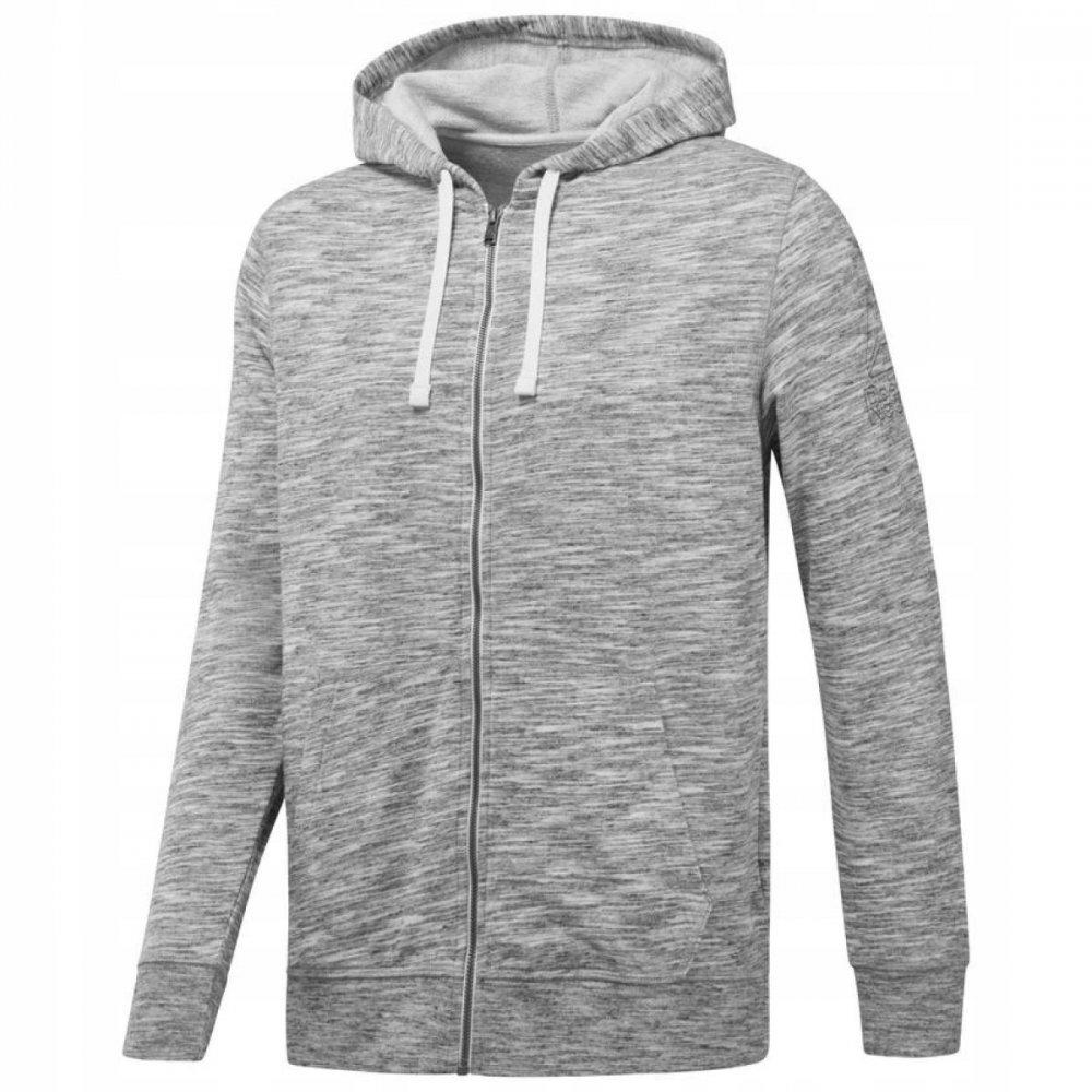reebok elements hoodie grey
