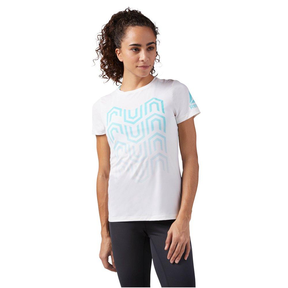 fantastyczne oszczędności najlepiej online znana marka Reebok ActivChill Running Tee W Biały