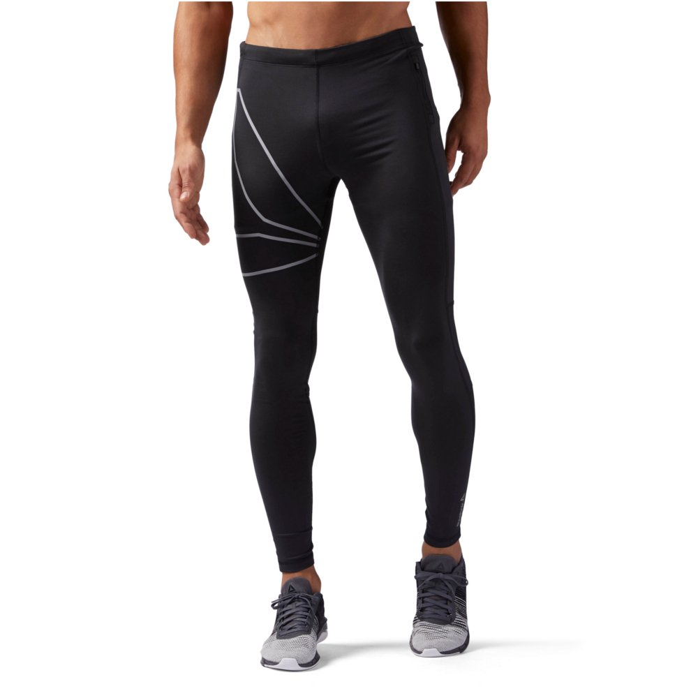 reebok running speedwick tight m czarne