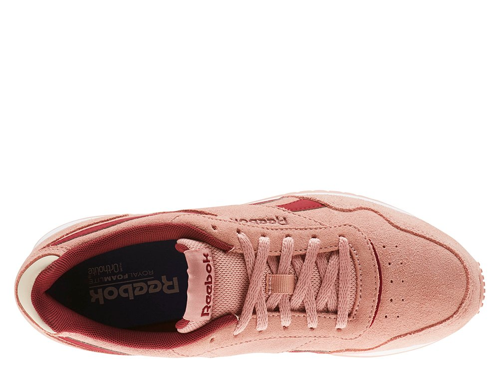 reebok royal glide ripple pink
