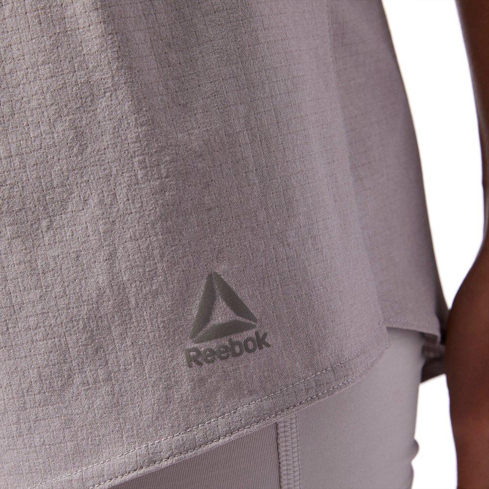 reebok 2-in-1 running shorts w szary