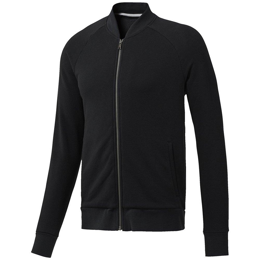 reebok retro bomber hoodie black