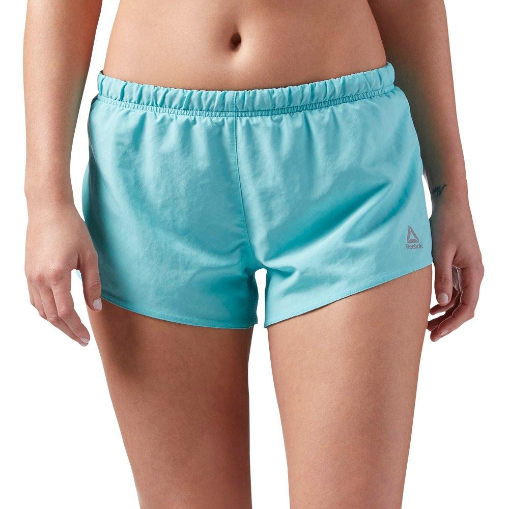 reebok 3in shorts w turkusowe
