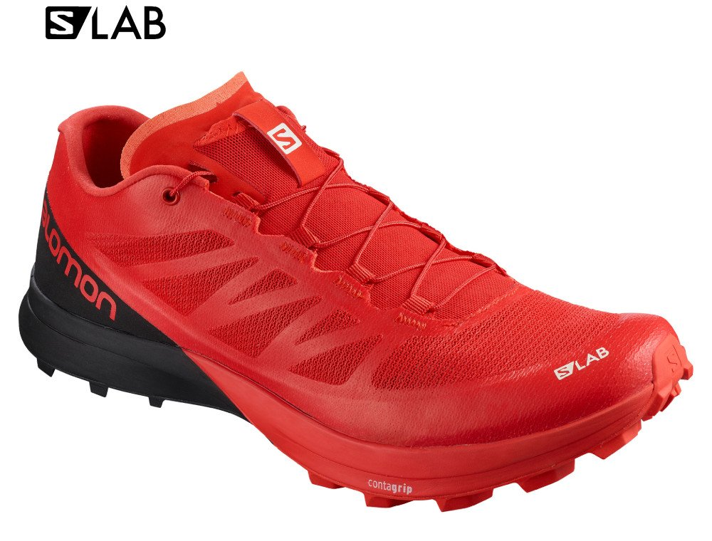 salomon s-lab sense 7 sg m czarno-czerwone