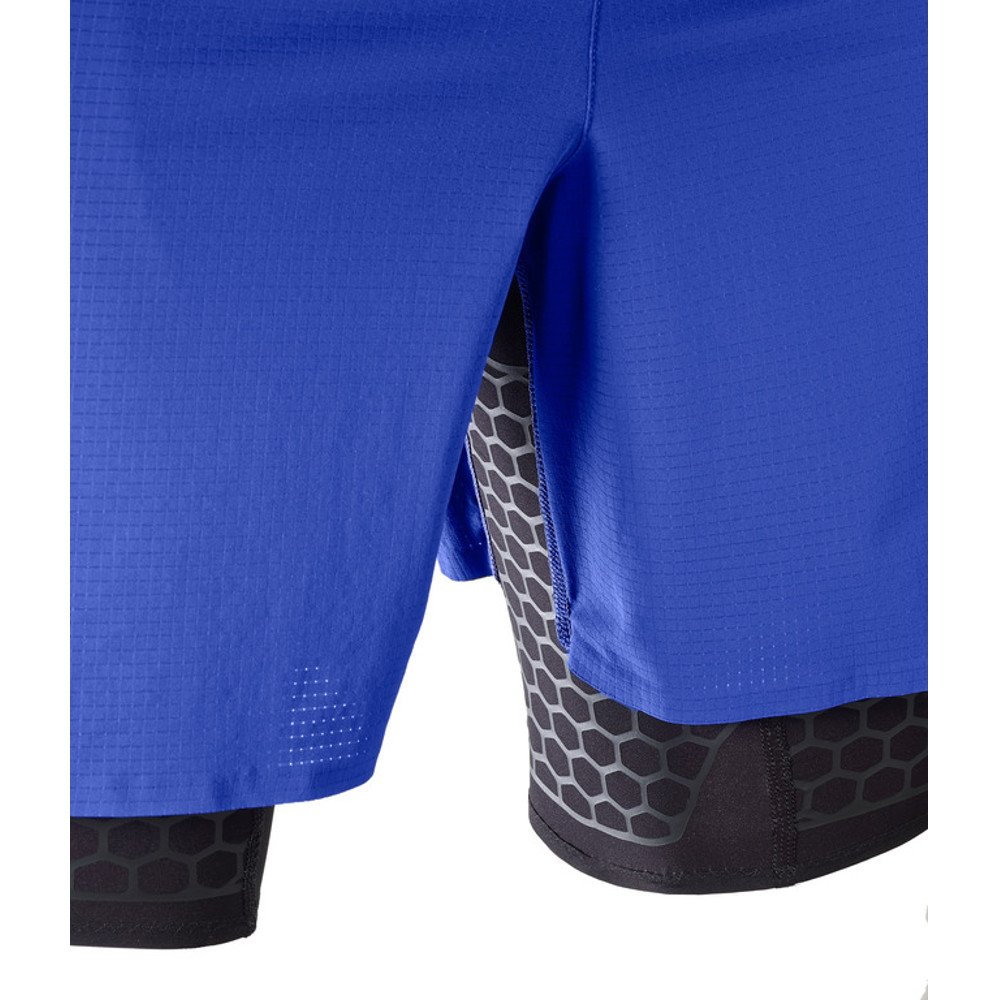 salomon exo twinskin shorts m czarno-niebieskie