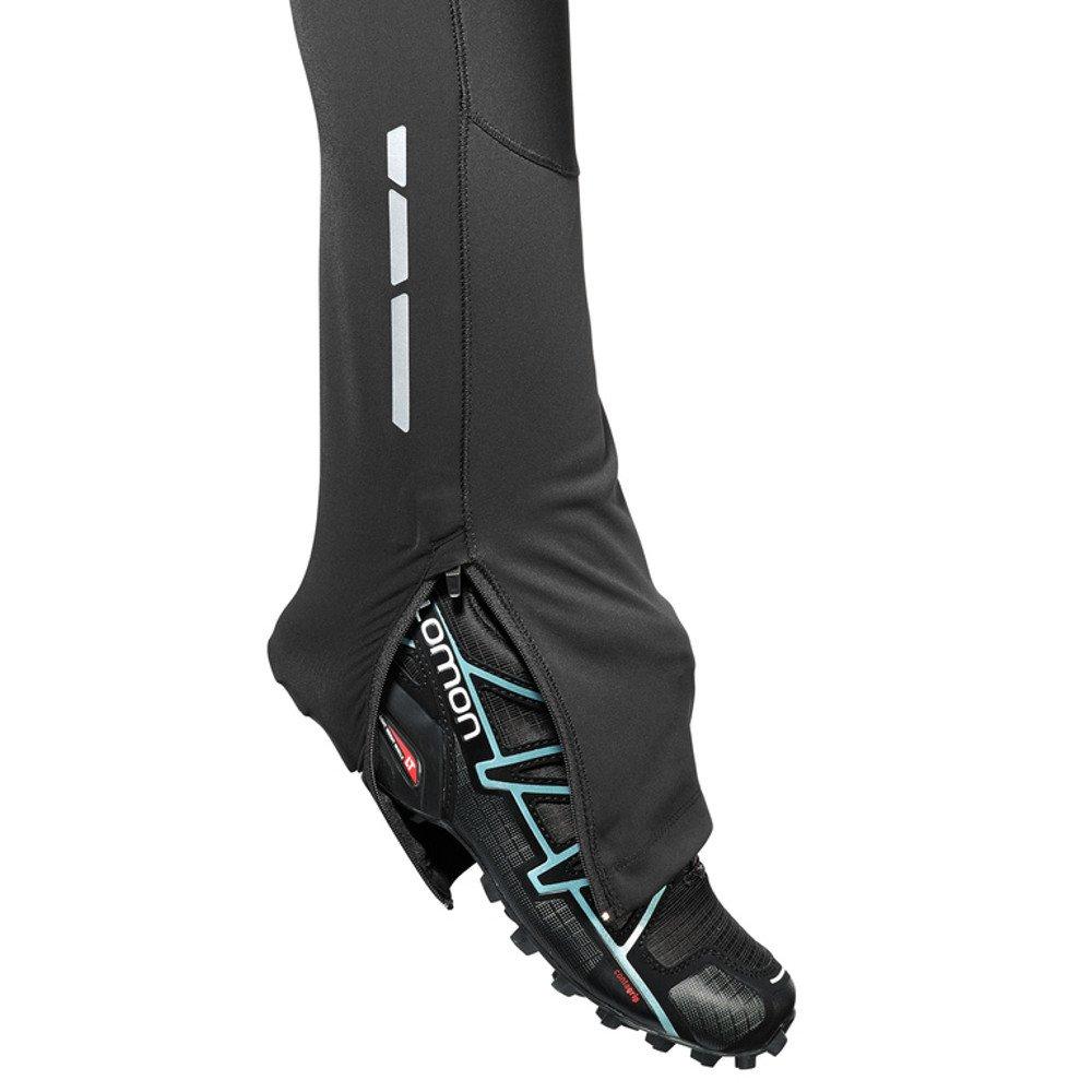 salomon trail runner windstopper tight w czarne