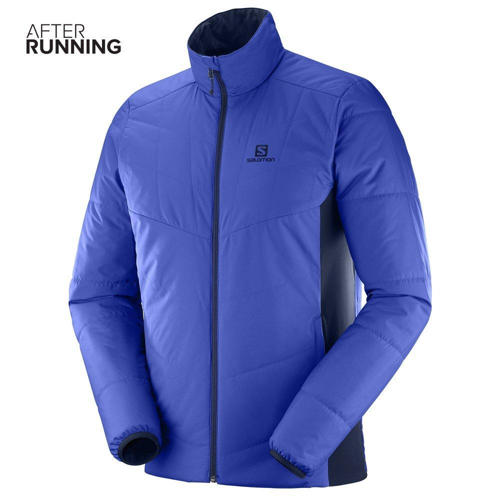salomon drifter mid jacket m granatowa niebieska