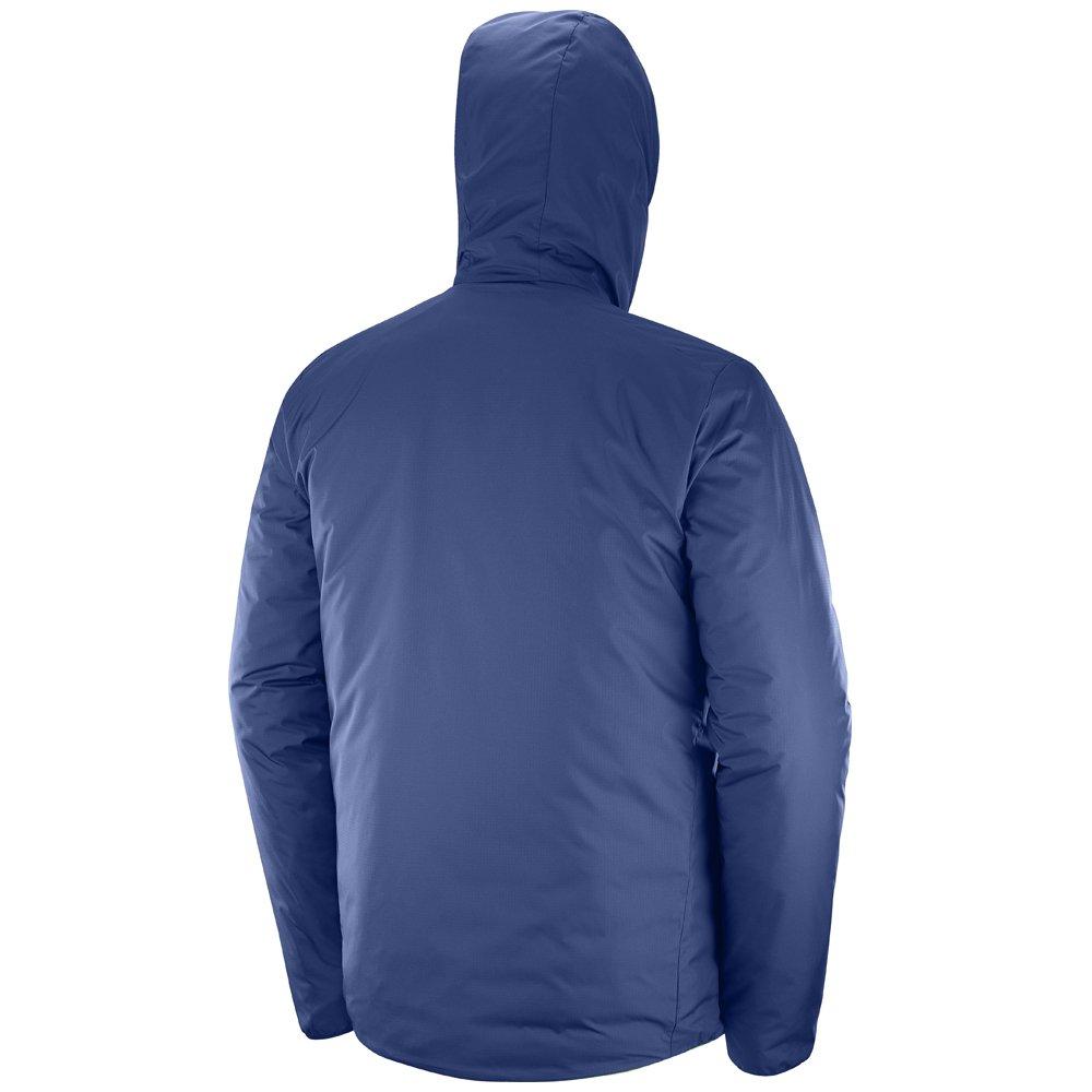 salomon drifter loft hoodie m ciemno-niebieska szara