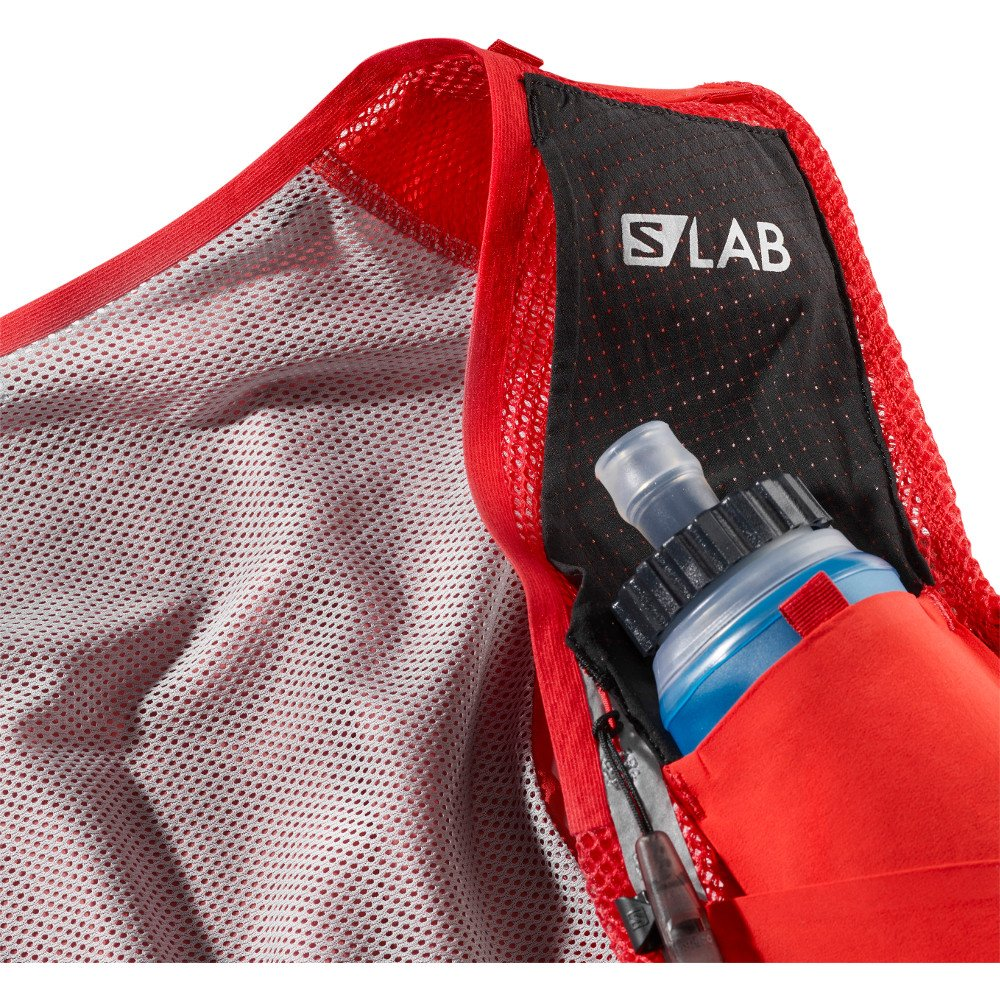 salomon s-lab sense ultra 8 set czerwony