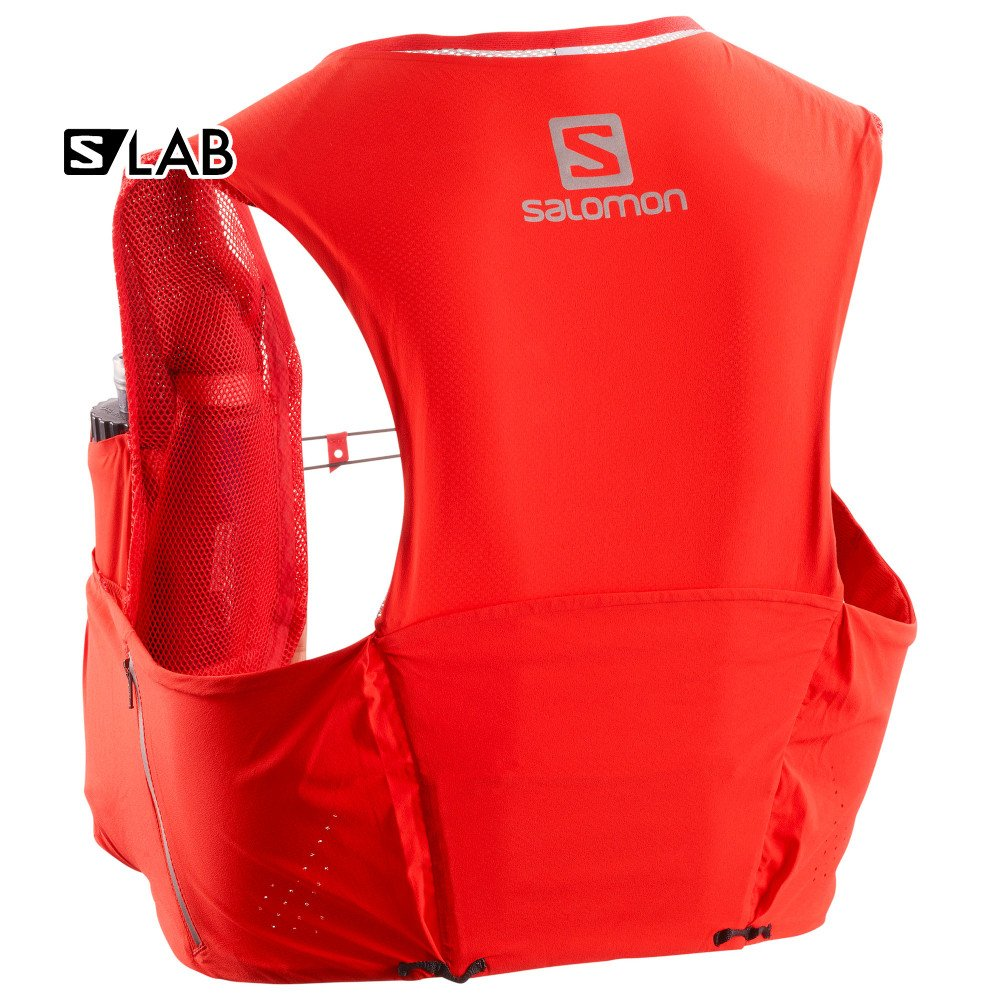 salomon s-lab sense ultra 5 set czerwony