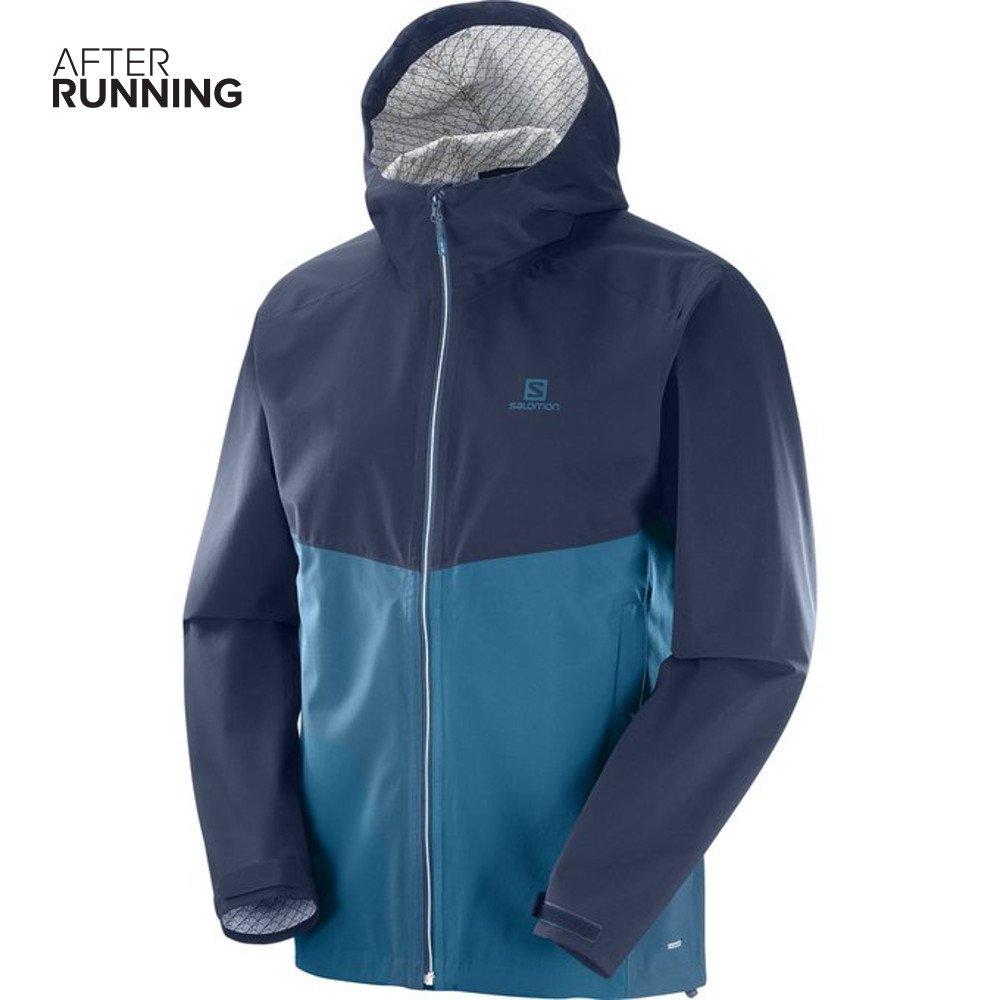salomon la cote flex 2.5l jacket m granatowo-niebieska