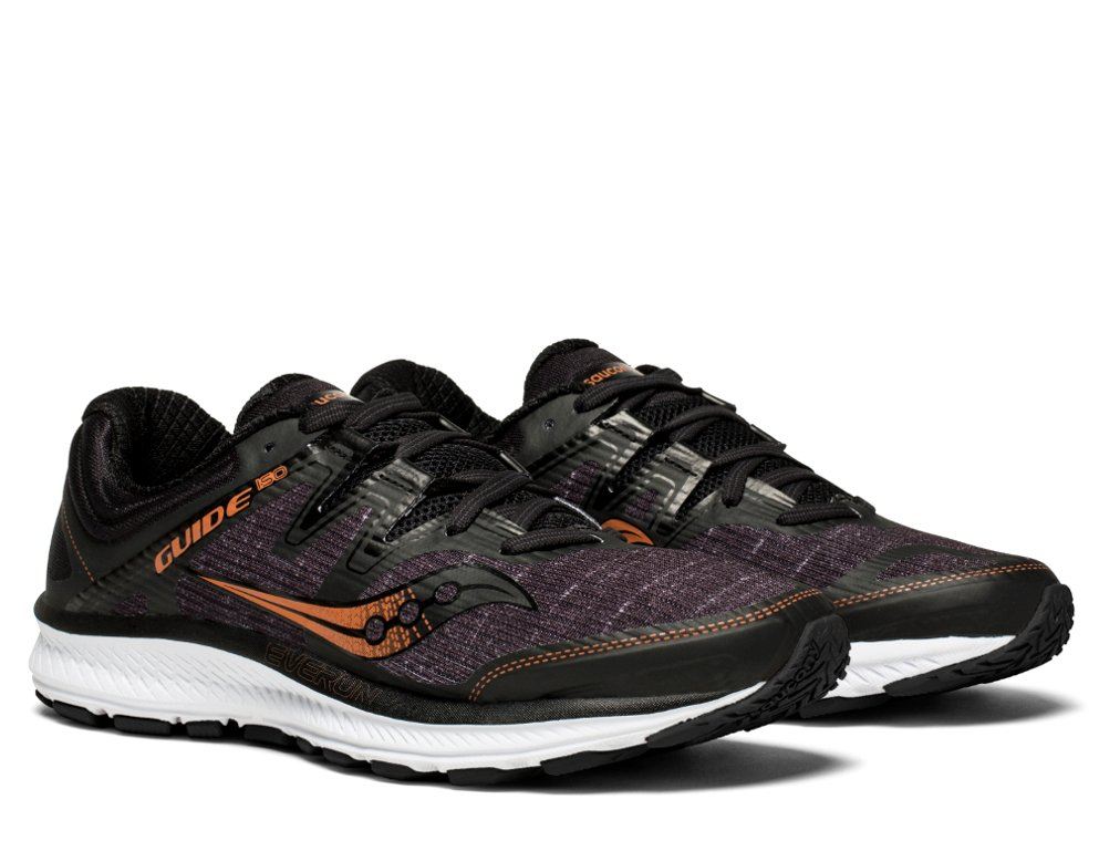 saucony guide iso black