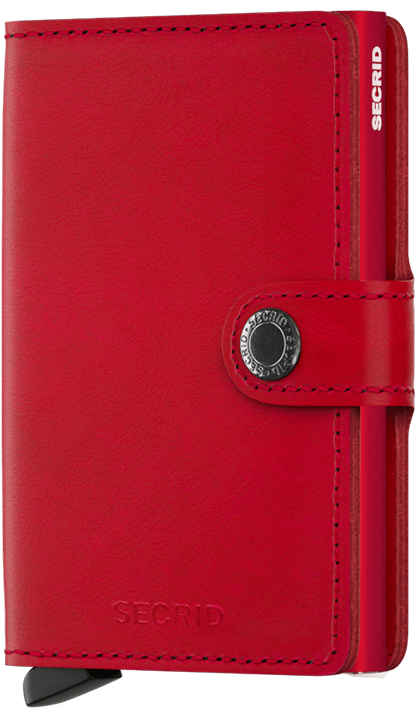 secrid miniwallet (m-red-red)