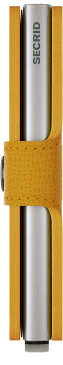secrid miniwallet (mc-amber)