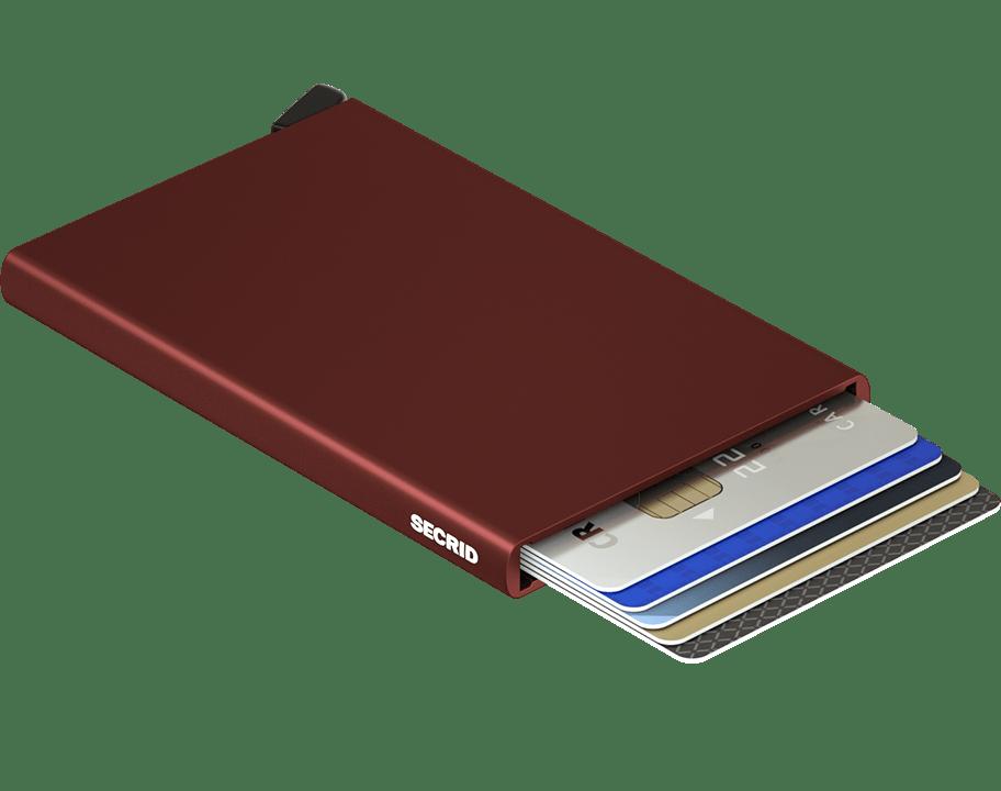 secrid cardprotector (c-bordeaux)