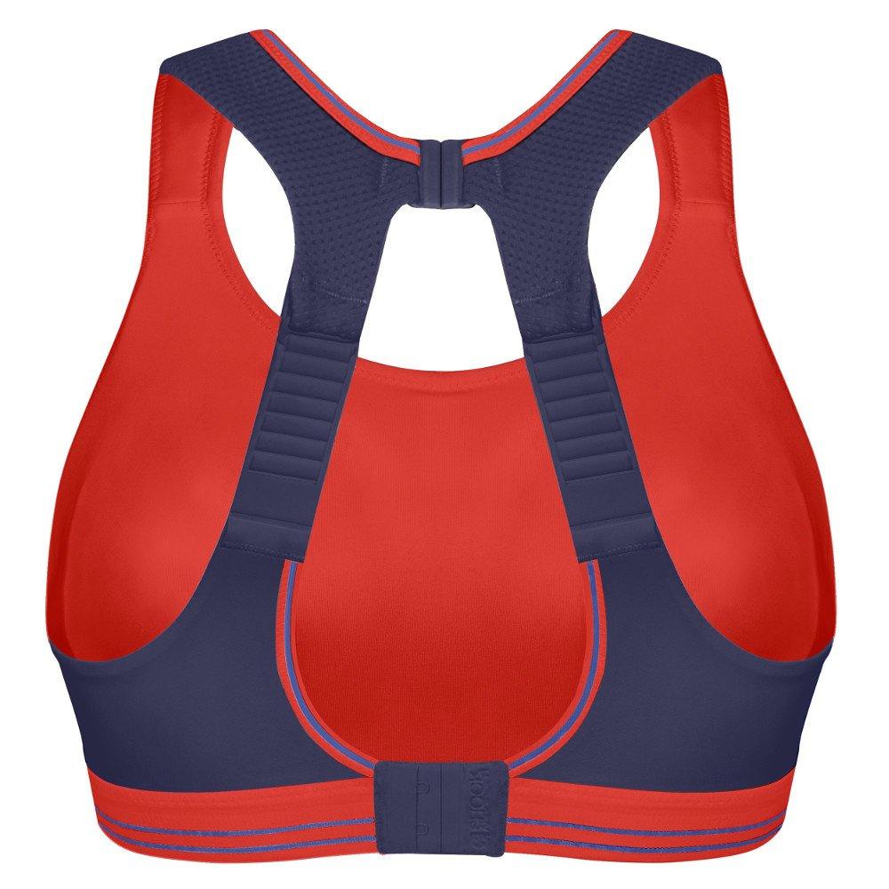 shock absorber ultimate run bra niebiesko-fioletowy