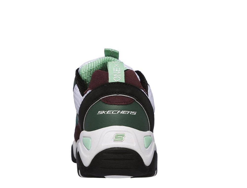 skechers d-lites 2 x one piece (12977-wgr)