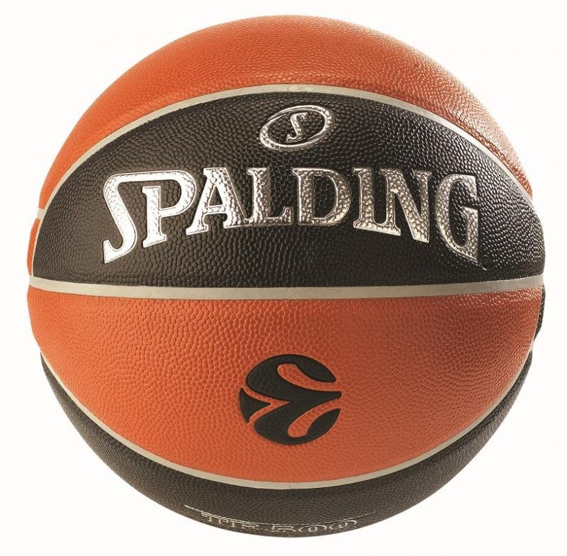 spalding euroleague tf-500 indoor/outdoor (029321745391)