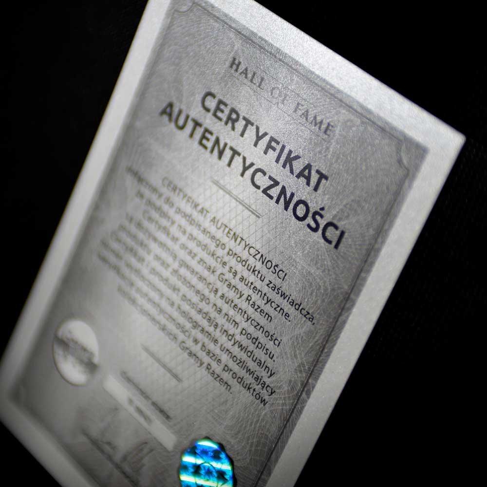 koszulka spalding unicaja malaga z autografem adama waczyńskiego (b0081)