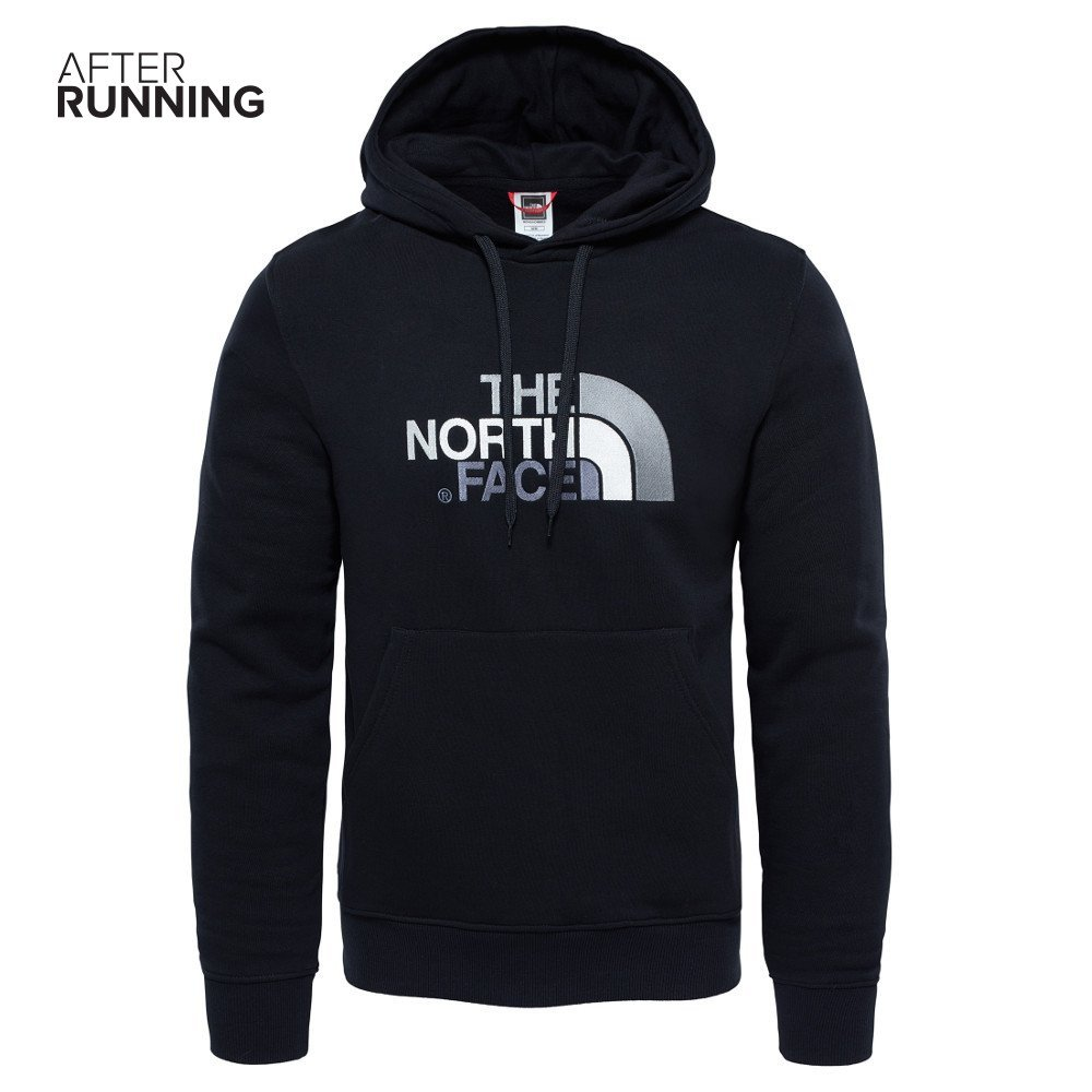 the north face seasonal drew peak pullover m czarna