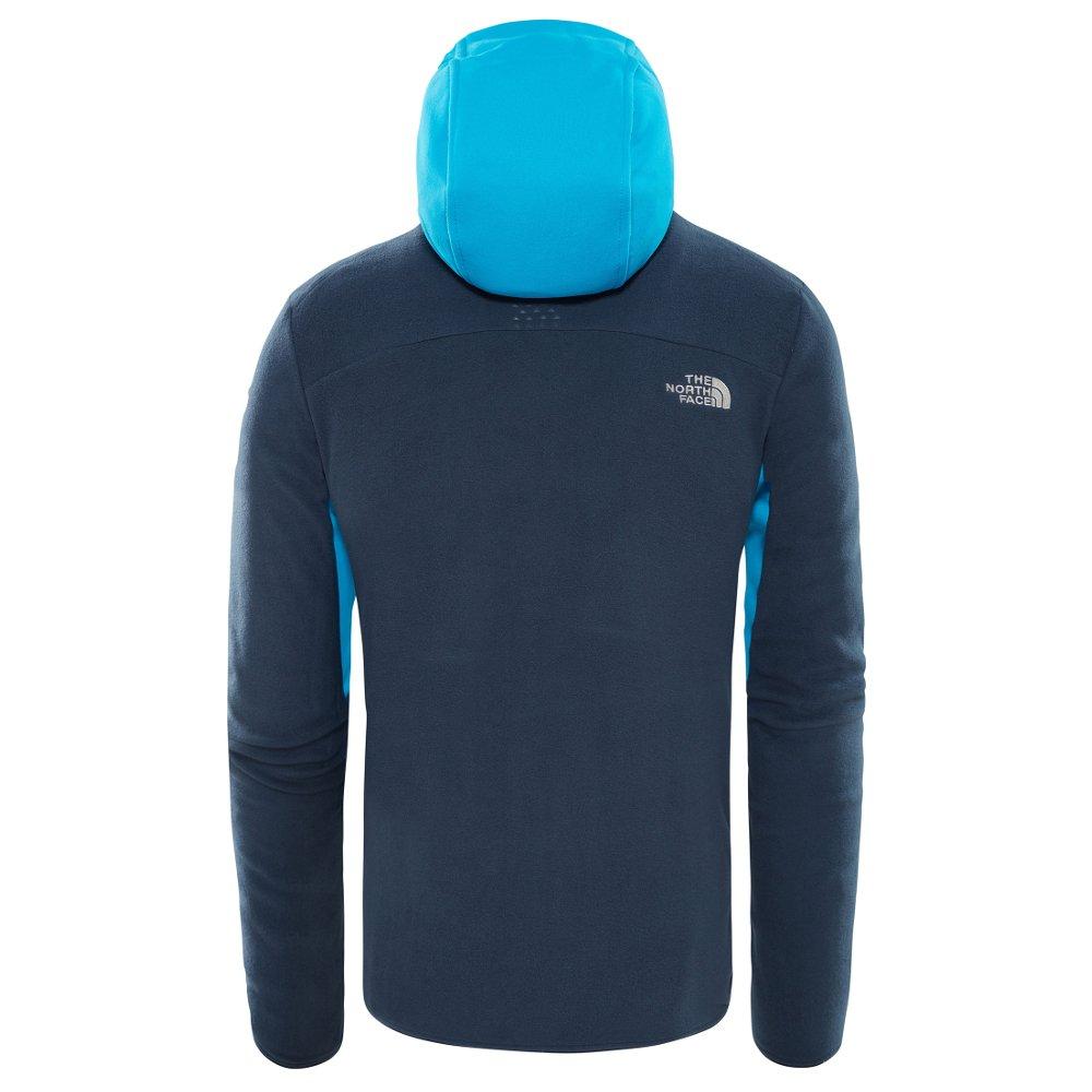bluza polarowa the north face kabru fz hoodie /urban navy
