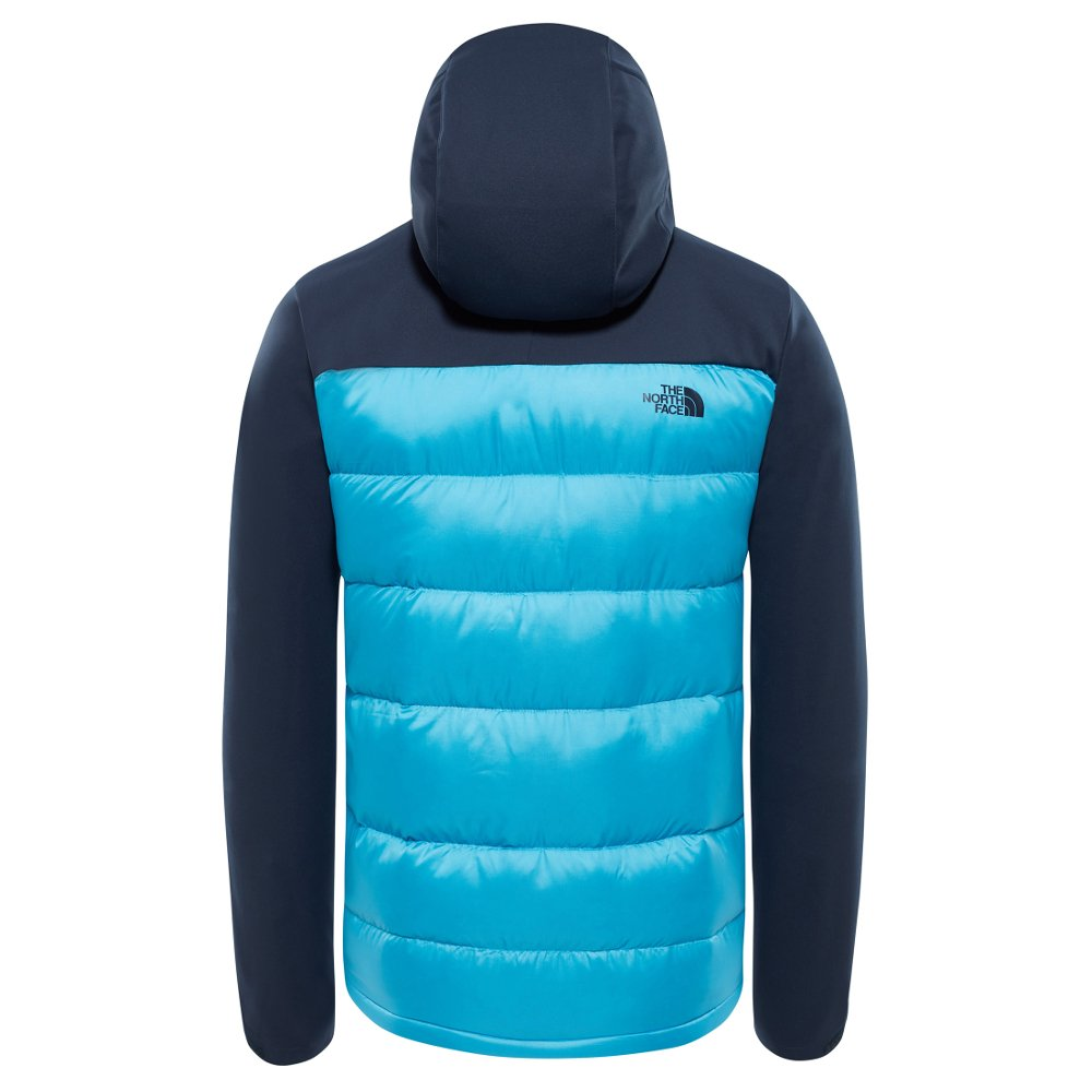 the north face peakfrontier hybrid jacket m granatowo-błękitna