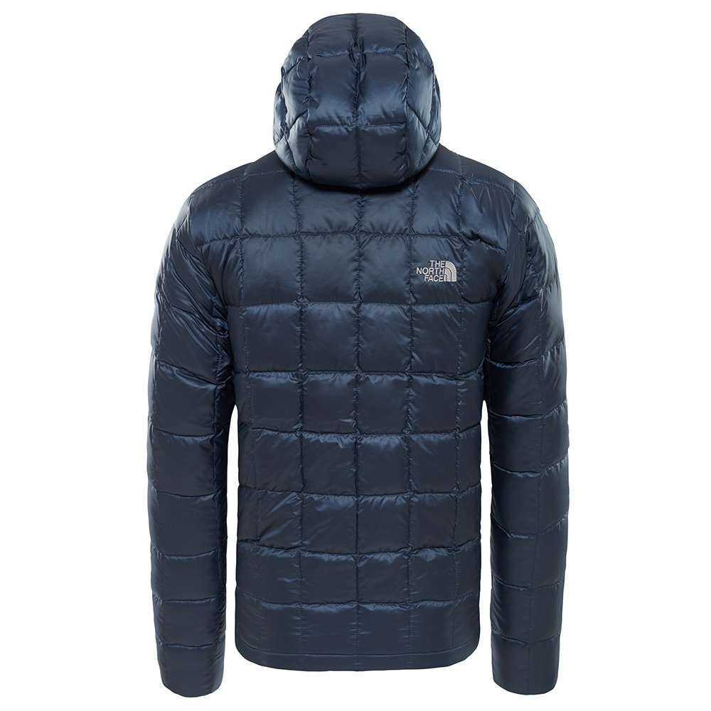 north face kabru hooded down jacket m granatowa (t93l4vh2g)