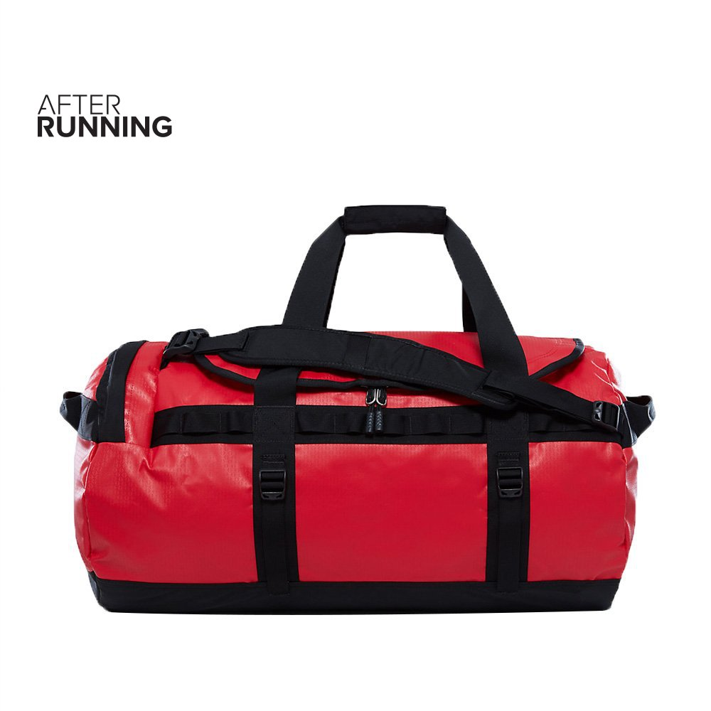 torba the north face base camp duffel medium czerwona
