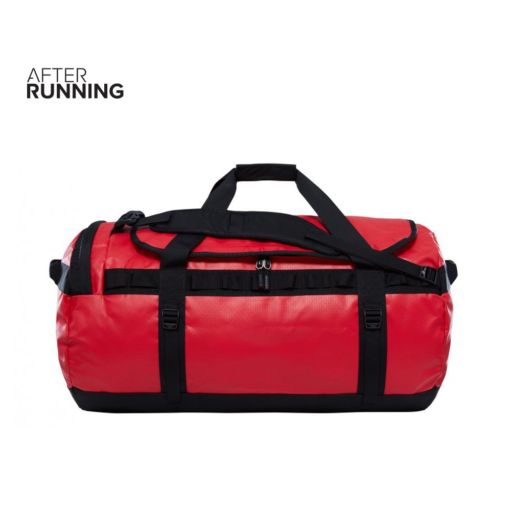 torba the north face base camp duffel large czerwona