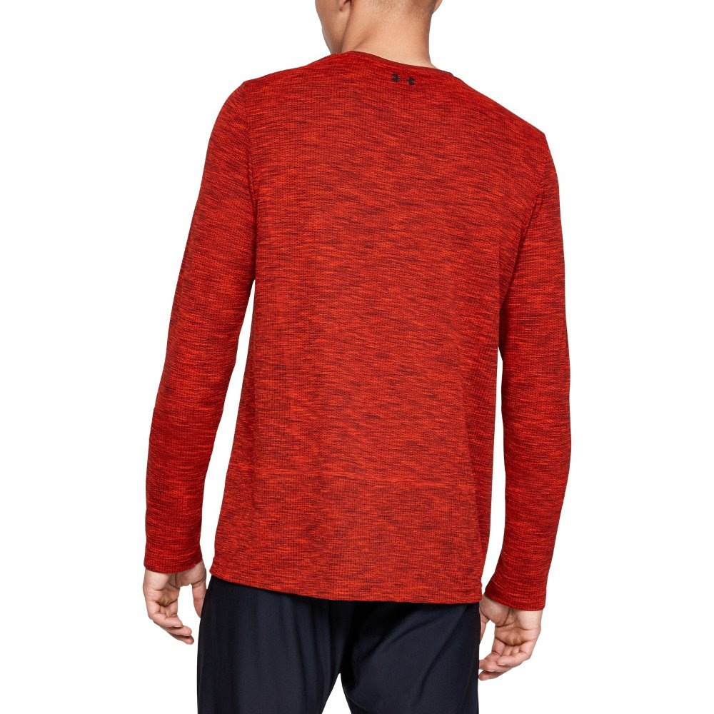 under armour vanish seamless long sleeve m czerwona