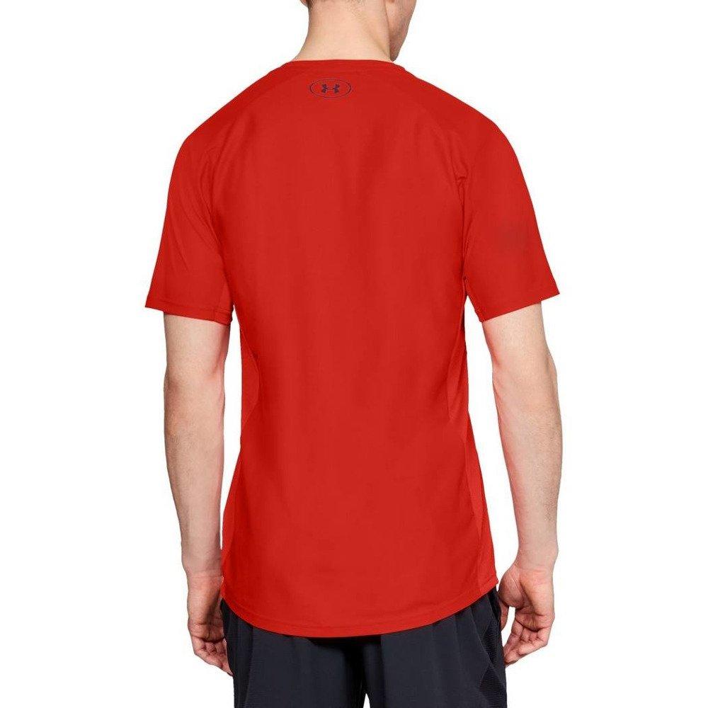under armour vanish short sleeve m czerwona