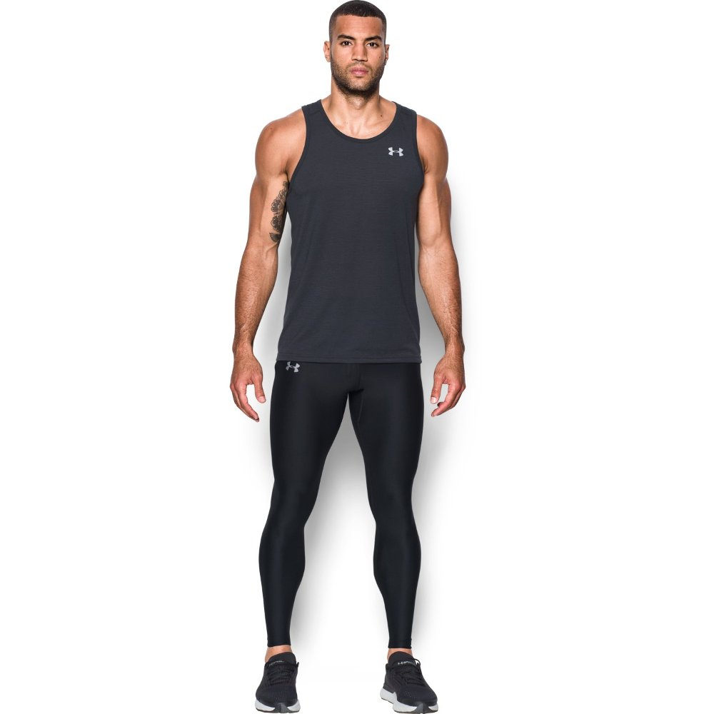 under armour run true leggings m czarne